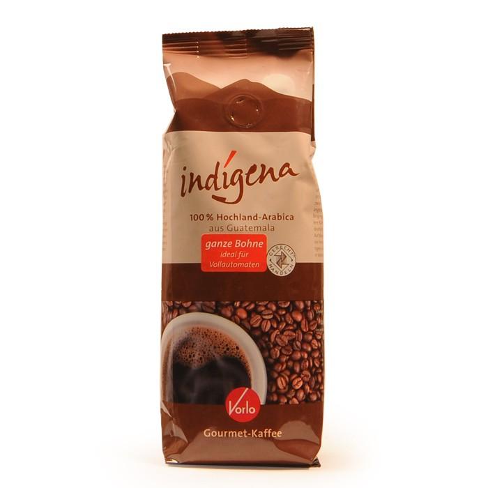 Vorlo indigena Gourmet-Kaffee, ganze Bohne