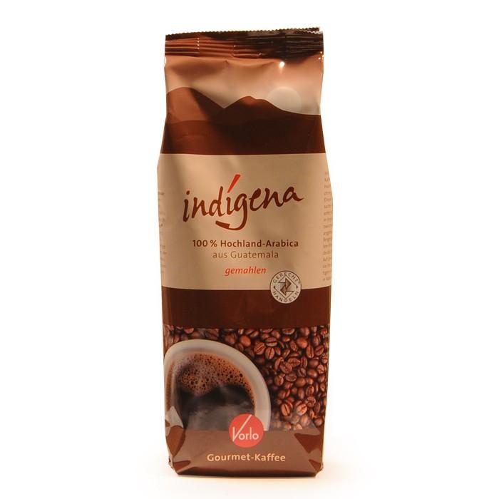 Vorlo indigena Gourmet Kaffee, gemahlen